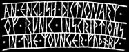 An English Dictionary of Runic Inscriptions in the Younger Futhark Logo